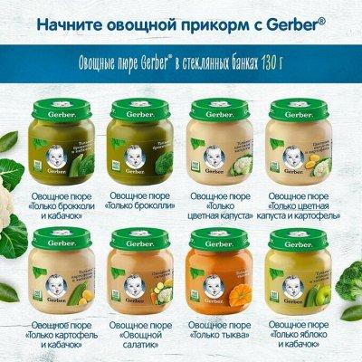 Легендарные марки детского питания — Пюре овощные