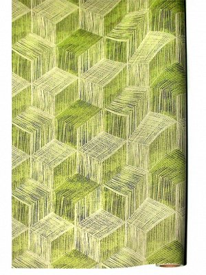 Бумага капелла 41/17-40 проекция на зеленом 100 см х 10 м рулон