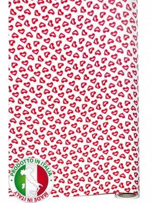Бумага капелла 41/430-00 white kisses 100 см х 10 м рулон