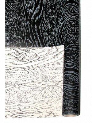 Бумага капелла 42/02-05 двусторонняя дубовая доска черно-беленая 70 см х 10 м