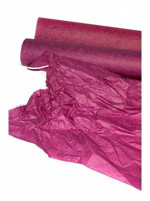 Бумага тишью дольче пурпурная фуксия 100 см х 50 м
