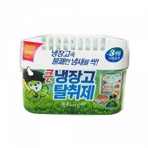 Ароматизатор-освежитель для холодильника «ODOR FRI» (зеленый чай) 420 г (для холодильников с объемом до 600 л)