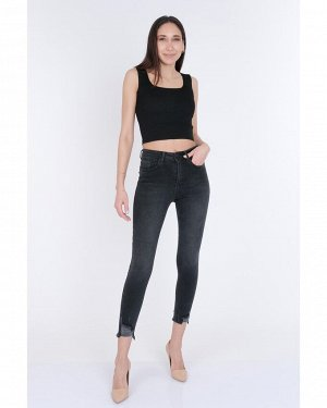 Jeans Fabric 95% Polyester Fabric 5% Elestan Waist type High Waist