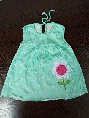 Платье Реальное фото. Единый размер: длина платья 39см, ширина по груди 26см.