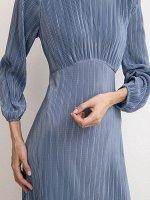 Плиссированное платье PL1138/bensan