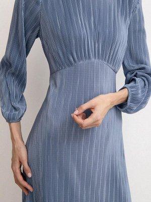 Плиссированное платье 52 размер