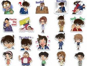 "Наклейки ПВХ-""Detective Conan"""