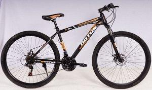 """Велосипед NOTUS 2-х колесный 29"""" (21скорость) FX910 черно/оранжевый"""