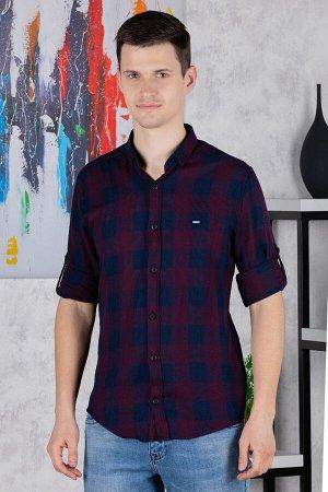 рубашка              17.2523-BORDO