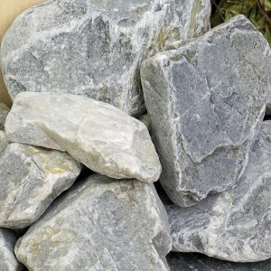 """Камень для бани """"Кварцит"""" галтованный """"Добропаровъ"""" коробка 20кг, фракция 70-120мм"""