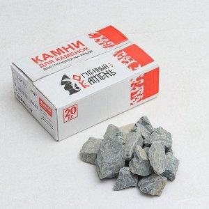 """Камень для бани """"Порфирит"""" колотый, коробка 20 кг"""