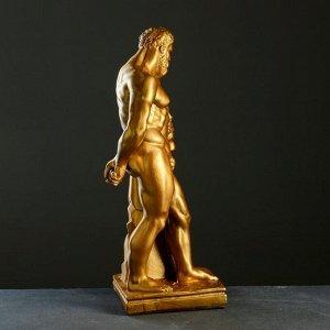 """Фигура """"Геракл"""" бронза 15х24х46см"""
