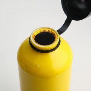 """Бутылка для воды """"Мастер К."""" 750 мл, алюминий 6.5х21 см"""