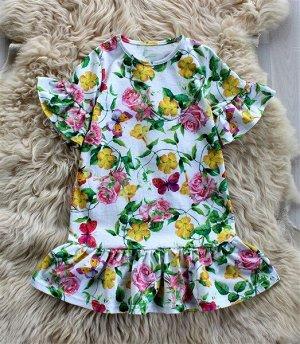 ПЛ120-К Платье летнее