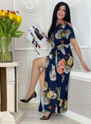 Платье Ткань Прадо Пояс на резинке Ремешок в комплекте О/груди платья: 48 размер - 100см 50 размер - 104см 52 размер - 108см 54 размер - 112см  Дл/платья: 48 размер - 136см 50 размер - 136см 52 размер