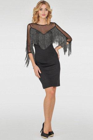 Платье 2765.47 черное