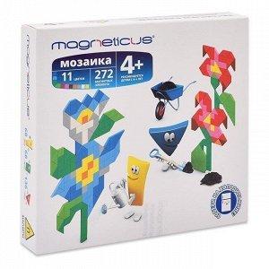 Мозаика-миди магнитная Цветы 272 эл Magneticus MM-012