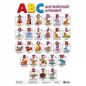 Плакат АВС. Английский алфавит 2039