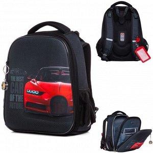 Рюкзак ERGONOMIC Classic-Best car 37х29х17 см 45038 Hatber