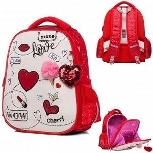 Рюкзак ERGONOMIC light-Милая модница 38х29х15см 45018 Hatber