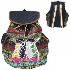 Рюкзак текстиль 38х25 см 141-629N