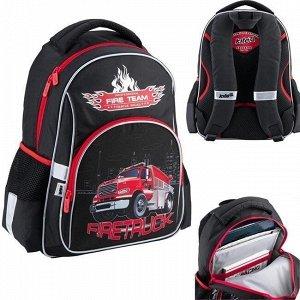 Рюкзак школьный 513 Firetruck K18-513S