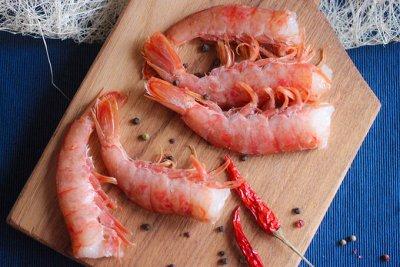 Морепродукты:крабы,креветки,гребешок,чука,мидии. — креветка — Свежие и замороженные