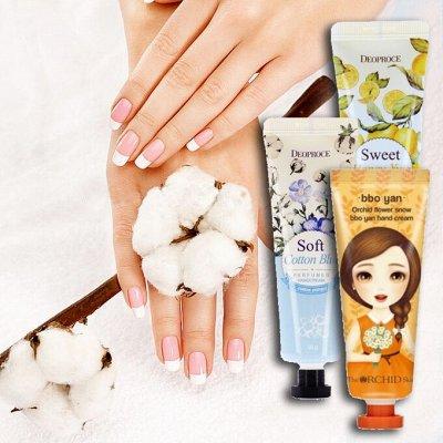 Корея оптом! Тушь, кушоны, декоративная косметика. — Крема для рук и ног — Кремы для тела, рук и ног