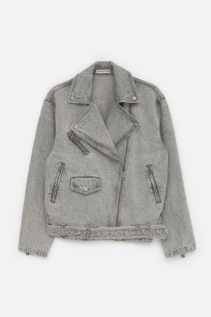 Куртка джинсовая жен. Mariposan серый
