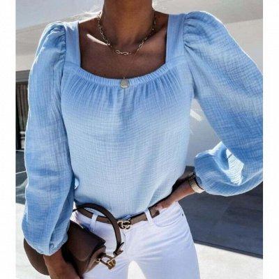 Весна в каждой детали🍓 — Блузки длинный и короткий рукав до 66 р-ра — Большие размеры