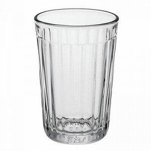 """Стакан стеклянный """"Граненый"""" 250мл, h10,5см, д7м, s0,3см (Ро"""
