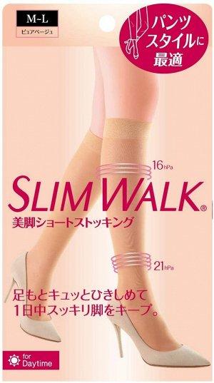 SLIMWALK - бежевые компрессионные чулки