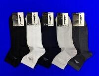 ЮстаТекс носки мужские укороченные спортивные 1с19 сетка СЕРЫЕ