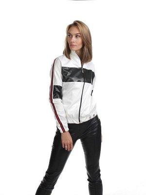 Куртка кр054 бело-черная