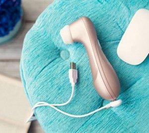 Вакуум-волновой бесконтактный стимулятор клитора Satisfyer PRO 2 NG, силикон+ABS пластик, розовый, 1