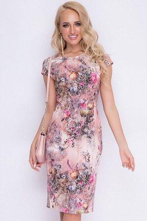 ПЛАТЬЕ Платье из текстильного жаккардового хлопка.