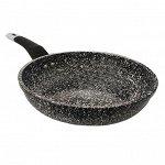 """Сковорода с антипригарным покрытием Amercook """"Stone Green Pan"""" / 24 см"""
