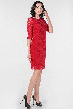 Платье 2525-2.12 красное
