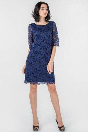 Платье 2525-2.12 синее