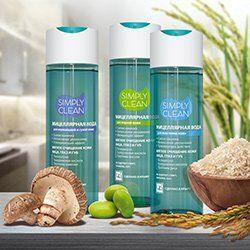 Крымская натуральная косметика — Мицеллярная вода «Simply Clean» для очищения кожи 200мл — Мицеллярная вода