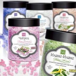 Крымская натуральная косметика — Морская соль с эфирными маслами «Морская фантазия» 500г — Пены и соли для ванны