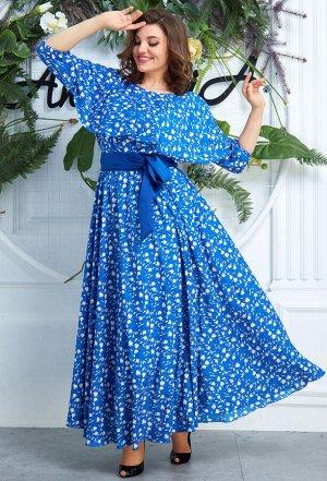 Платье Anastasia 573 василек
