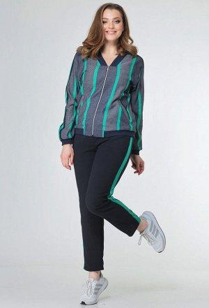 Комплект Anastasia Mak 598 зеленая полоска