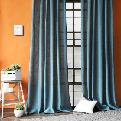 Костромской текстиль 🌠 Обновки для дома! — Шторы лен и хлопок — Шторы