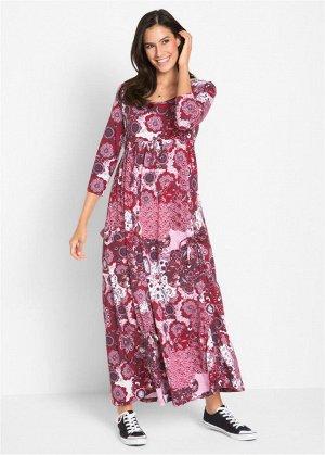 Платье с рукавом 3