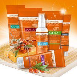 Крымская натуральная косметика — Orange vitamin multicomplex - омолаживающий комплекс с облеп — Восстановление
