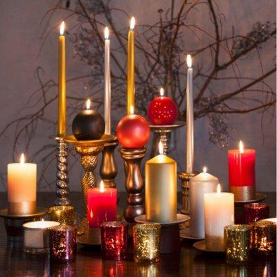 Территория игрушек и праздника! Здесь ВЕСЕЛО! Здесь РАДОСТЬ — Свечи интерьерные и подсвечники — Свечи и подсвечники