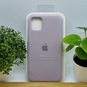Силиконовый чехол для IPHONE 11 цвет № 62 (все наклейки,лого вырезан, микрофибра,не пачкается,улучшенное качество)