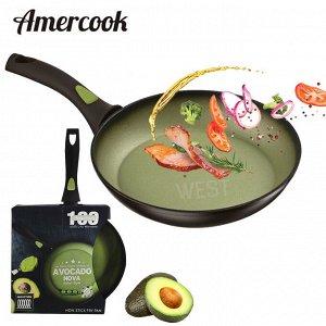 """Сковорода с антипригарным покрытием Amercook """"Avocado Nova"""" / 28 см"""