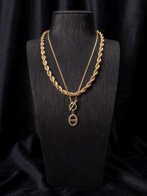 10148521 Колье Street Fashion - Бижутерия Selena